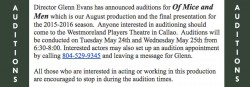 Auditions-OMAM