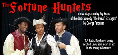 08/04/18 - Opening Night Gala - The Fortune Hunters - Festivities at 6:30 p.m. - Curtain at 7:30 p.m. - Adult Ticket