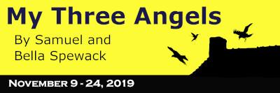 11/15/19 - My Three Angels - 7:30 p.m. - Adult Ticket